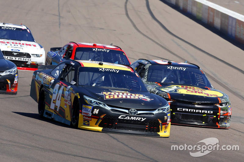 Drew Herring, JGL Racing, Toyota; Ty Dillon, Richard Childress Racing, Chevrolet