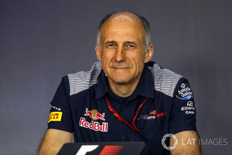 Франц Тост, керівник Scuderia Toro Rosso Team