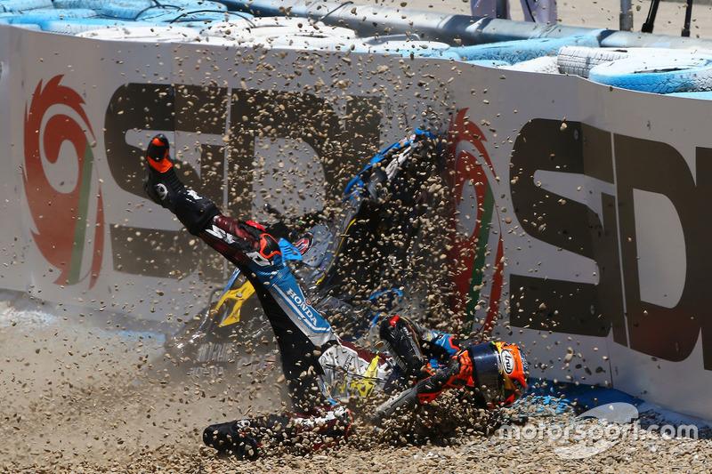 Tito Rabat, Estrella Galicia 0,0 Marc VDS crash