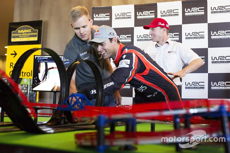 Andreas Mikkelsen, Hyundai Motorsport, Ott Tänak, M-Sport