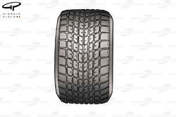 Michelin wet weather tyre