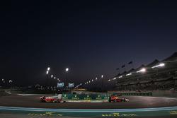Daniel Ricciardo, Red Bull Racing RB12 leads Kimi Raikkonen, Ferrari SF16-H