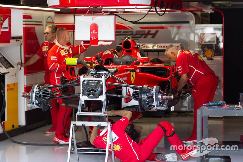 Ferrari team area