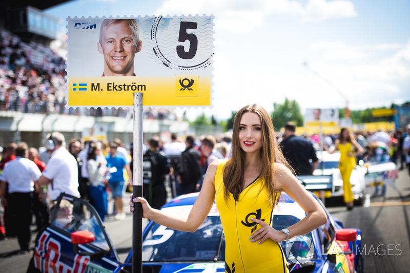 Грід-гьол Маттіаса Ексрьома, Audi Sport Team Abt Sportsline, Audi A5 DTM
