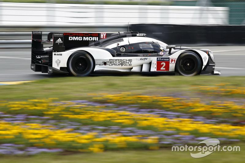 1: #2 Porsche Team Porsche 919 Hybrid: Romain Dumas, Neel Jani, Marc Lieb