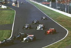 Michael Schumacher, Ferrari makes up places