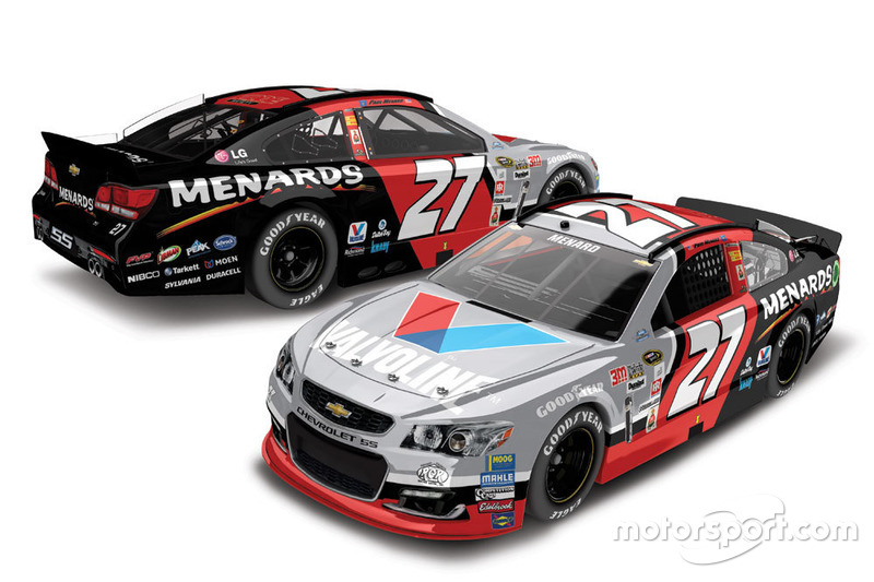 Paul Menard, Richard Childress Racing throwback