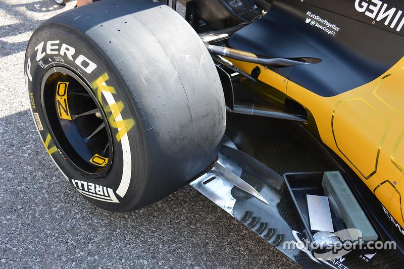 Renault Sport F1 Team RS16, detail
