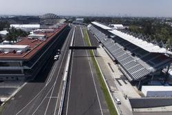 Preparaciones del autódromo Hermanos Rodríguez