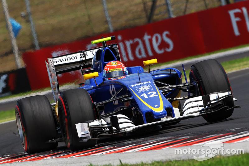 16: Felipe Nasr, Sauber C35