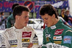 Frank Schmickler, Mercedes, und Michael Schumacher, Mercedes