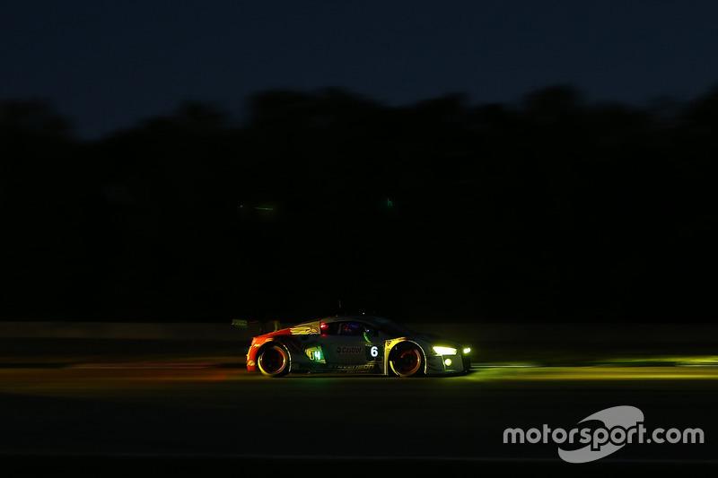#6 Stevenson Motorsports, Audi R8 LMS GT3: Andrew Davis, Robin Liddell, Mike Skeen