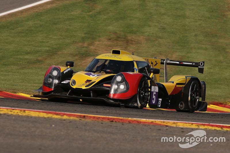 #5 By Speed Factory, Ligier JS P3-Nissan: Tom Jackson, Alain Costa, Jesus Fuster
