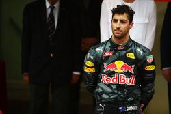 Подиум: обладатель второго места в Гран При Монако Даниэль Риккардо, Red Bull Racing