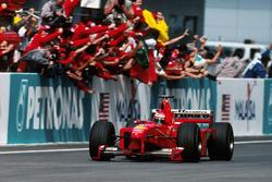 Sieg für Eddie Irvine, Ferrari F399