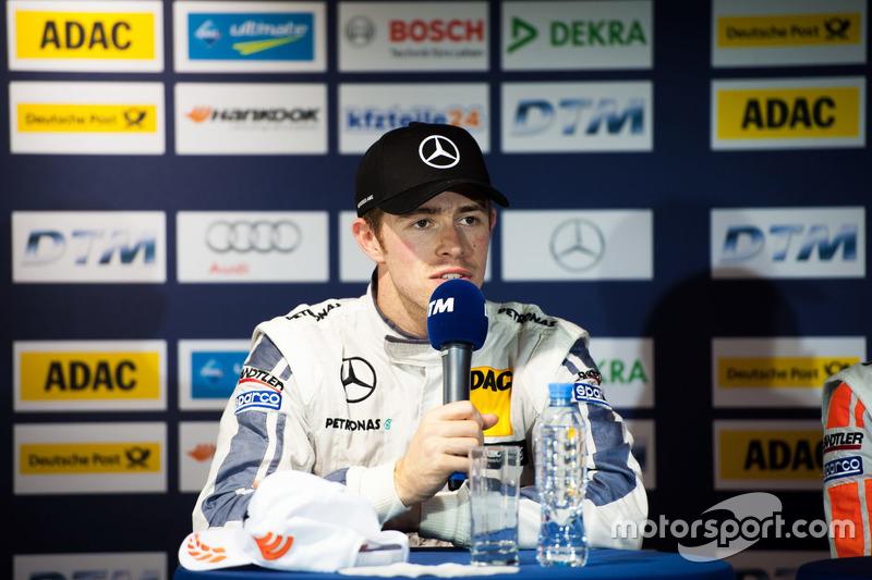 Press Conference: Paul Di Resta, Mercedes-AMG Team HWA, Mercedes-AMG C63 DTM