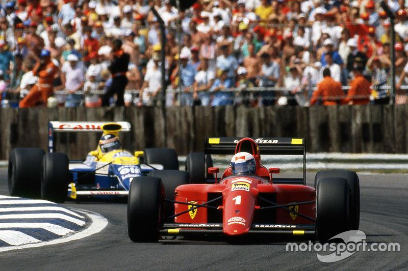 Alain Prost, Ferrari voor Thierry Boutsen, Williams