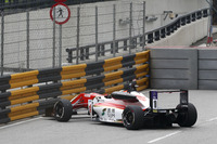 Mick Schumacher, SJM Theodore Racing by Prema, Dallara Mercedes miss the Lisboa corner