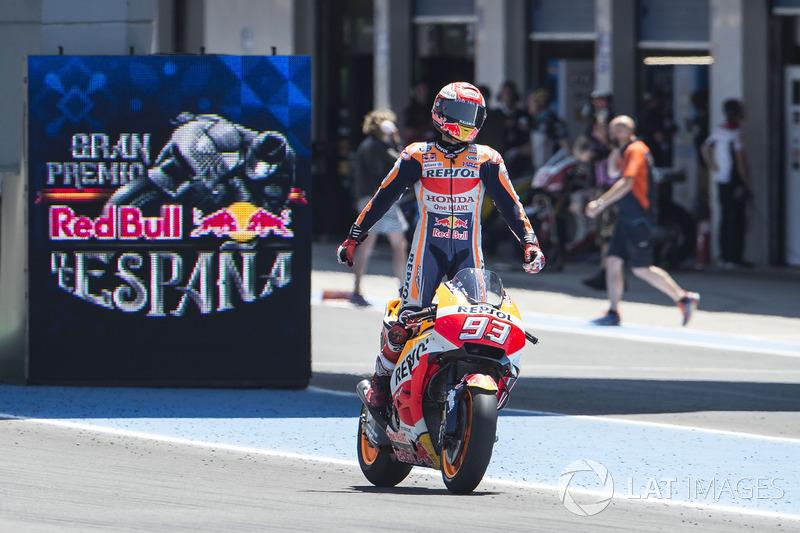 14. Переможець Гран Прі Іспанії 2018 року: Марк Маркес, Repsol Honda Team