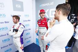 Sam Bird, DS Virgin Racing, Daniel Abt, Audi Sport ABT Schaeffler, Edoardo Mortara, Venturi Formula E