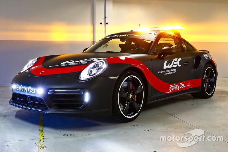 Porsche 911 Turbo, voiture de sécurité du FIA WEC