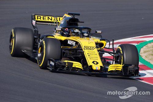 Презентация Renault RS18