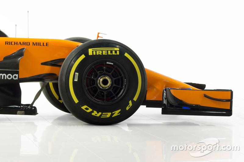 McLaren MCL33, dettaglio anteriore