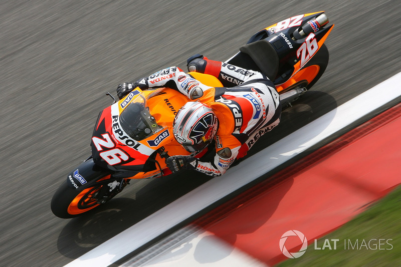 2006: GP de China, primera pole en MotoGP en su cuarta carrera