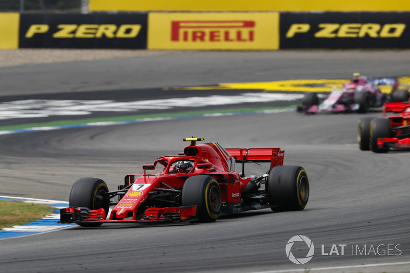 Jock Clear asks Raikkonen to let Vettel through