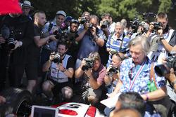 Media surround Jenson Button