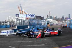 Nick Heidfeld, Mahindra Racing y Nicolas Prost, Renault e.Dams