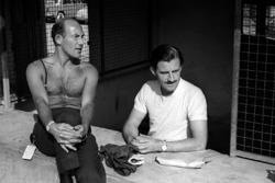 Stirling Moss und Graham Hill