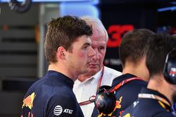 Max Verstappen, Red Bull Racing and Dr Helmut Marko, Red Bull Motorsport Consultant