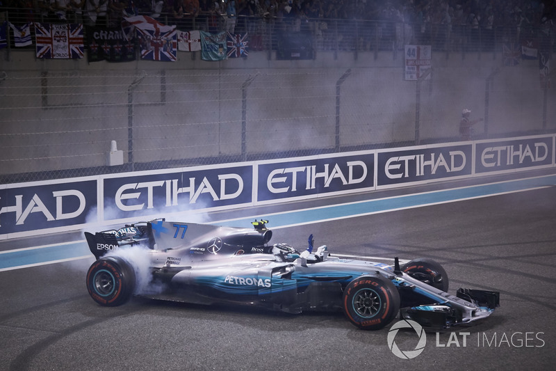 Bottas ve Mercedes'in zaferi