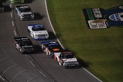 Justin Haley, GMS Racing Chevrolet, Noah Gragson, Kyle Busch Motorsports Toyota, Christopher Bell, Kyle Busch Motorsports Toyota