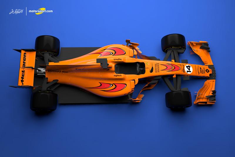 Konsep corak McLaren-Renault