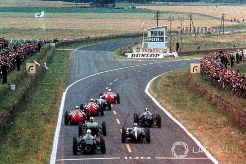 Четвертый этап сезона-61 принимала трасса в французском Реймсе. Проложенная по обычным провинциальным дорогам, она отличалась незамысловатой конфигурацией с пятью поворотами, большой длиной (8,3 км) и высокой средней скоростью