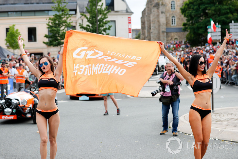 G-Drive Promo girls