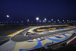 Lewis Hamilton, Mercedes W05, precede Nico Rosberg, Mercedes W05, e Felipe Massa, Williams FW36