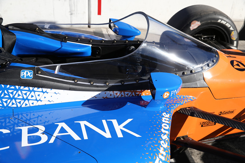 Aeroscreen  на машині Скотта Діксона, Chip Ganassi Racing Honda