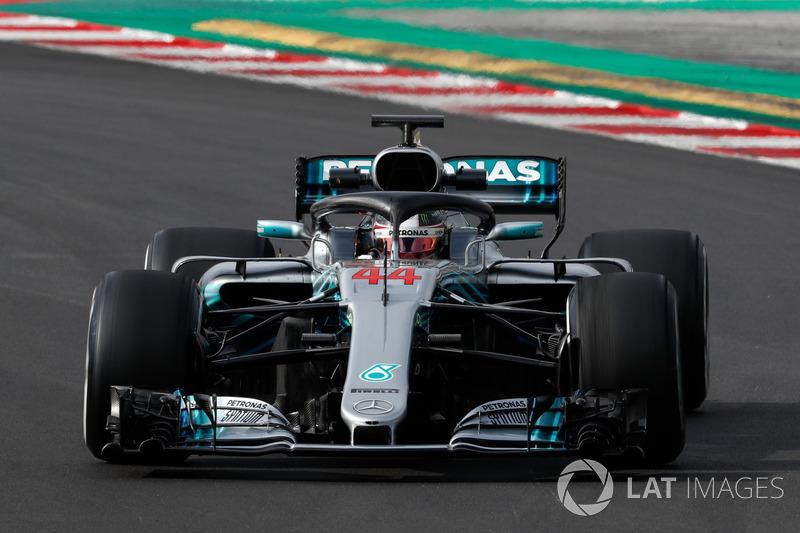 No final, Lewis Hamilton cravou o melhor tempo da semana, com 1min19s333.