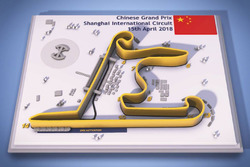 Chinese Grand Prix circuit map