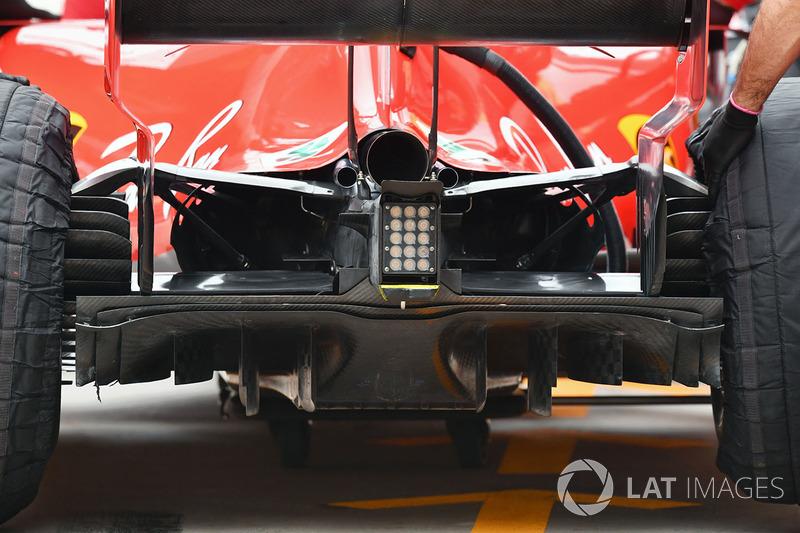 Дифузор Ferrari SF71H