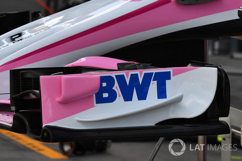 Force India VJM11: Frontflügel