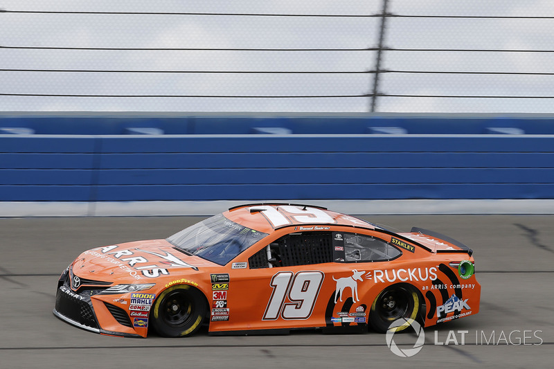 30. Daniel Suarez, No. 19 Joe Gibbs Racing Toyota Camry