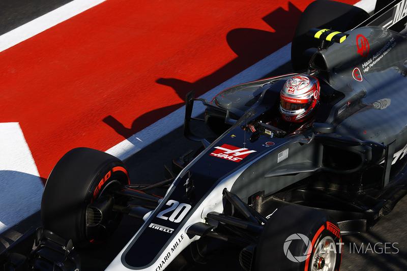 13º Kevin Magnussen, Haas F1 Team VF-17 (11 puntos)