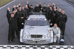 Klaus Ludwig, Mercedes-Benz CLK, HWA AG and the team