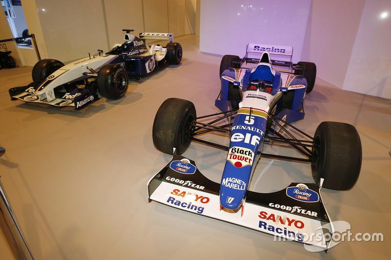 La pantalla de Williams Racing