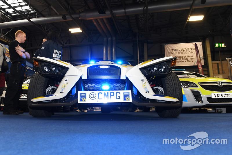 Vehículos con imagen de policía