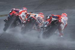 Danilo Petrucci, Pramac Racing, Marc Marquez, Repsol Honda Team, Andrea Dovizioso, Ducati Team